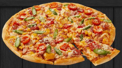ドミノピザ-カロリー-シェフの気まぐれ野菜スペシャル