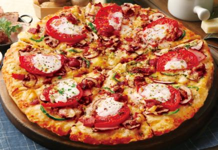 ピザーラ-カロリー-マスカルポーネの贅沢10種ピザ