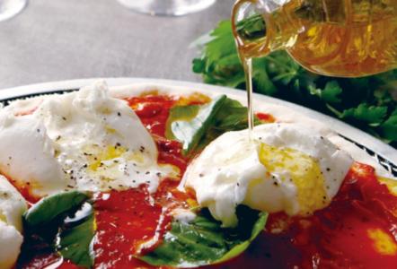 ピザーラ-ブラータチーズの贅沢マルゲリータ-ブラータチーズレシピ