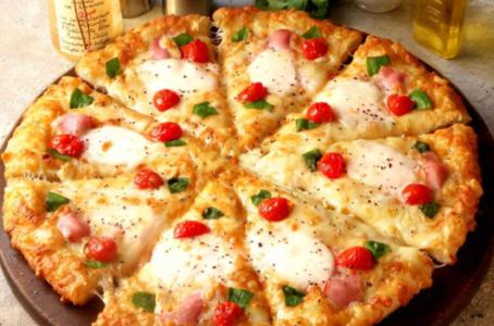 ピザーラ-絶品グルメクォーター-ブラータチーズの贅沢マルゲリータ