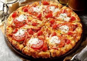 ピザーラ-お持ち帰り半額-たっぷりトマトとマスカルポーネ