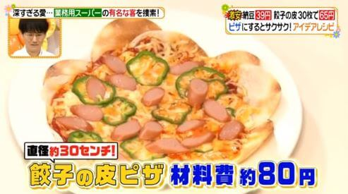 ピザレシピ-テレビ-ヒルナンデス