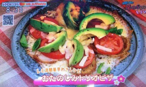 ピザレシピ-テレビ-平野レミの早わざレシピ