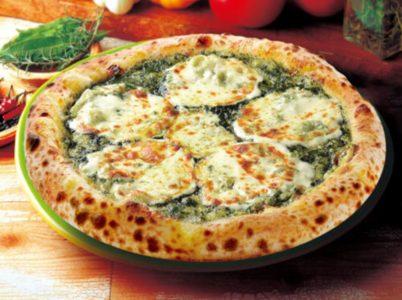 ナポリの窯-人気メニューランキング-バジルとモッツァレラチーズ