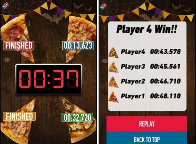 ドミノピザのピザタイムチャレンジ